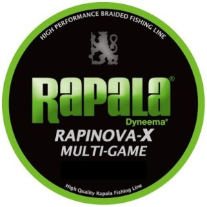 Rapala(ラパラ) ラピノヴァX マルチゲーム ライムグリーン 1.5号 150m