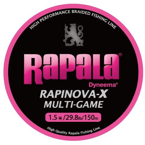 Rapala(ラパラ) ラピノヴァX マルチゲーム ピンク 150m 1.5号
