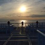 大黒海づり施設 日の出