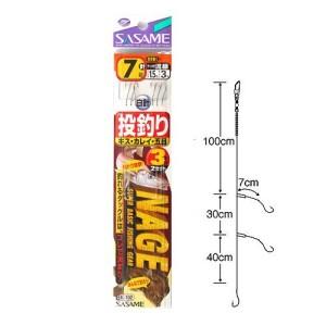 ささめ針(SASAME) 投釣3本針 K-102