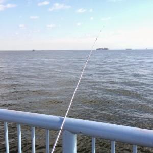 大黒海づり施設 先端付近海側