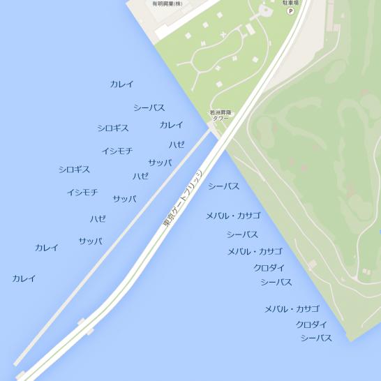 釣りマップ_若洲海浜公園
