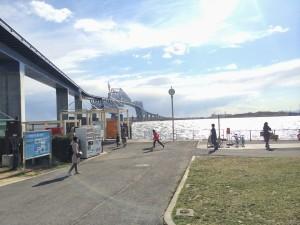 若洲海浜公園 入り口