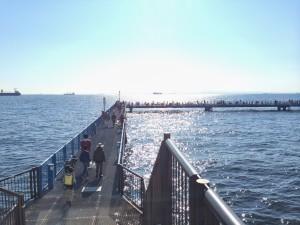 本牧海づり施設 入口