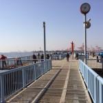 桟橋入り口付近