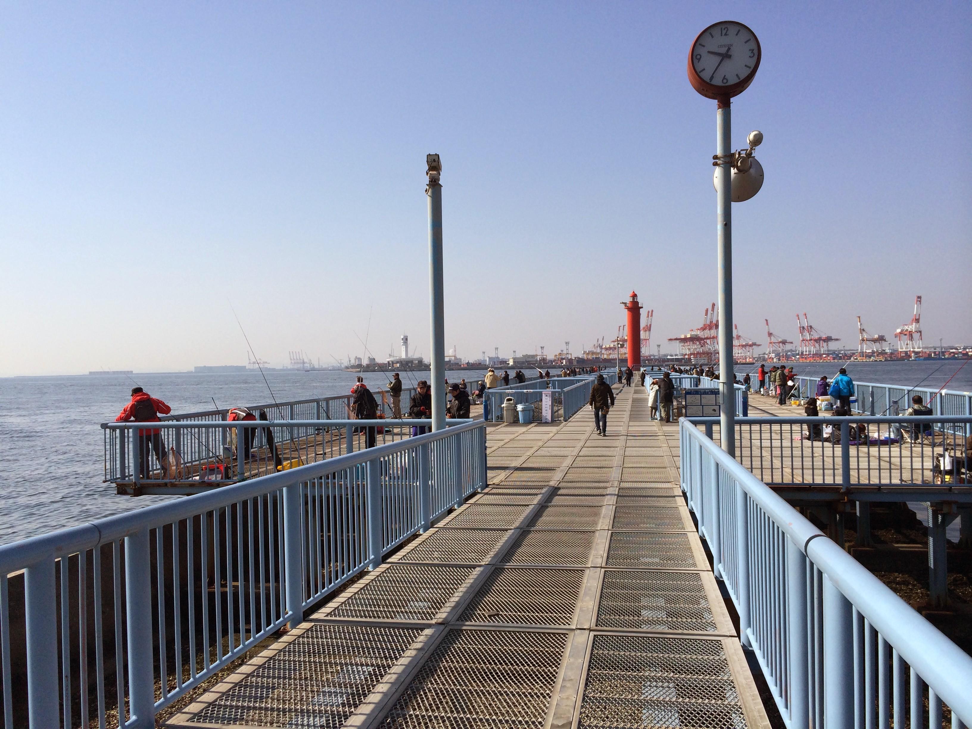 施設 釣り 大黒 海