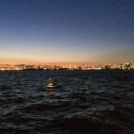 若洲海浜公園 キャンプ場前 夜景