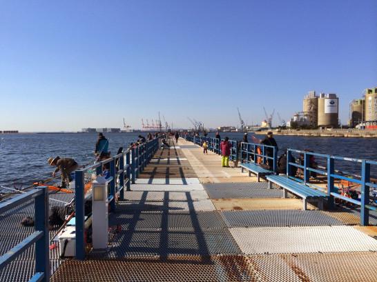 本牧海づり施設 沖桟橋