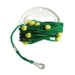 たかがロープ、されどロープ。水汲みやストリンガー、スカリなどに使いやすいロープです。タカ産業(TAKA)ホルダー巻きPPすべらんロープ