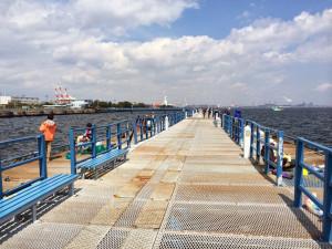 本牧海釣り施設 沖桟橋