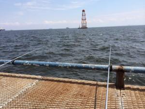 本牧海釣り施設 沖桟橋外側