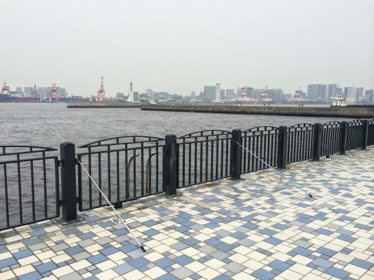 青海南ふ頭公園 入口付近
