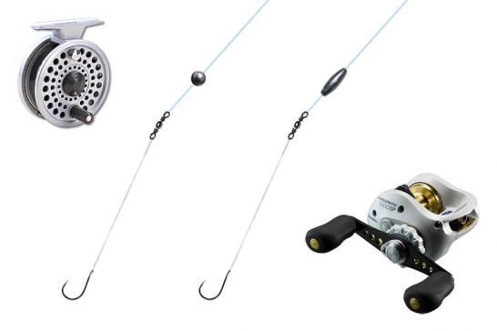 探り釣りの釣具