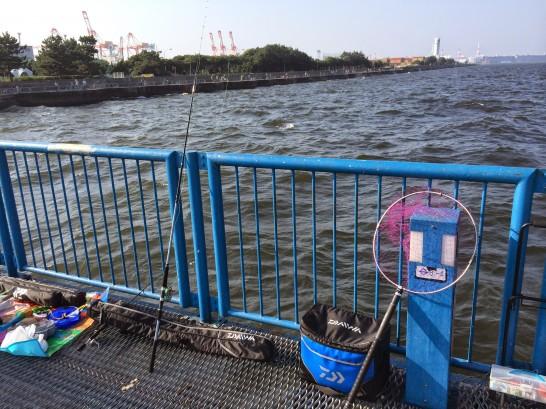 本牧海釣り施設 渡り桟橋