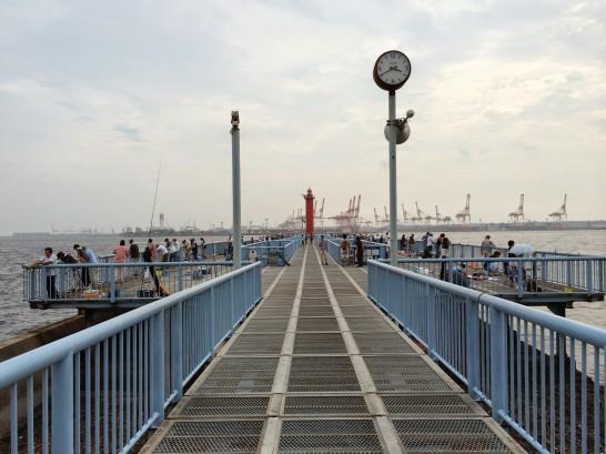 大黒海づり施設 渡り桟橋