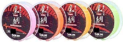 サンライン(SUNLINE) 落とし込み黒鯛 カラー(イエロー、オレンジ、グリーン、ピンク)