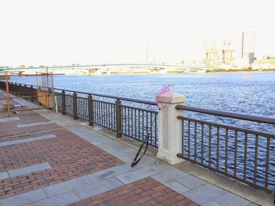 ガスの科学館前(春海橋公園) 釣り場