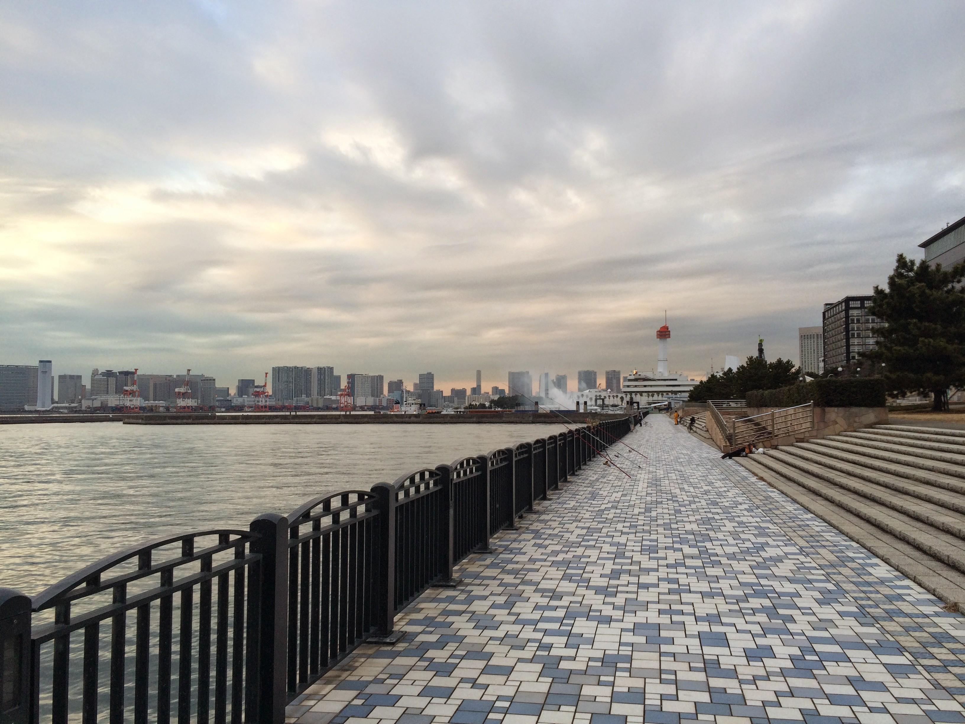 青海南ふ頭公園 左端付近