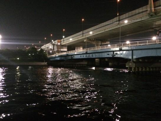 辰巳一丁目 釣り 七枝橋