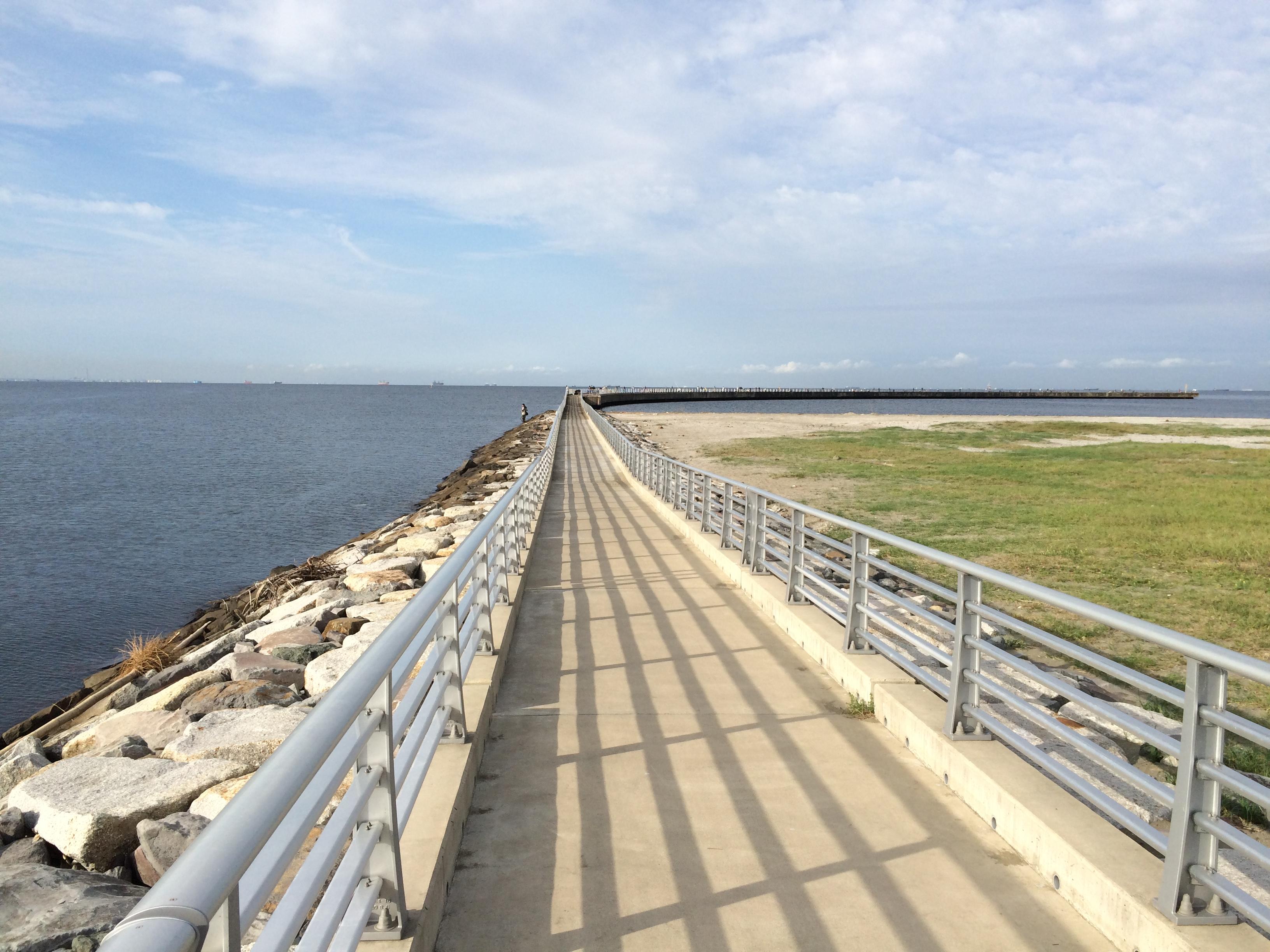 検見川浜突起 入口
