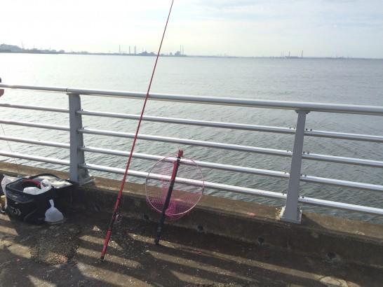 検見川浜突起 釣り場