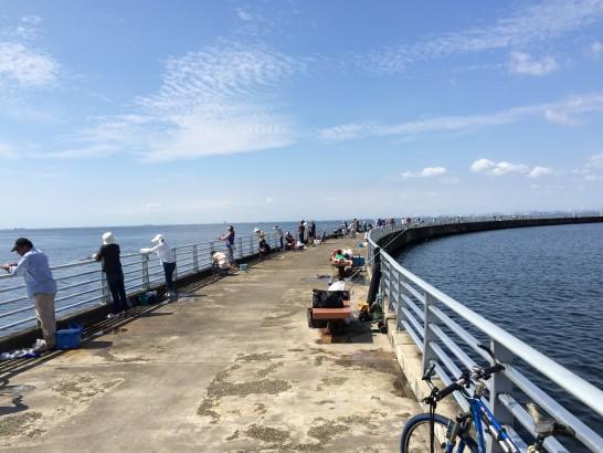 検見川浜突起 朝釣り