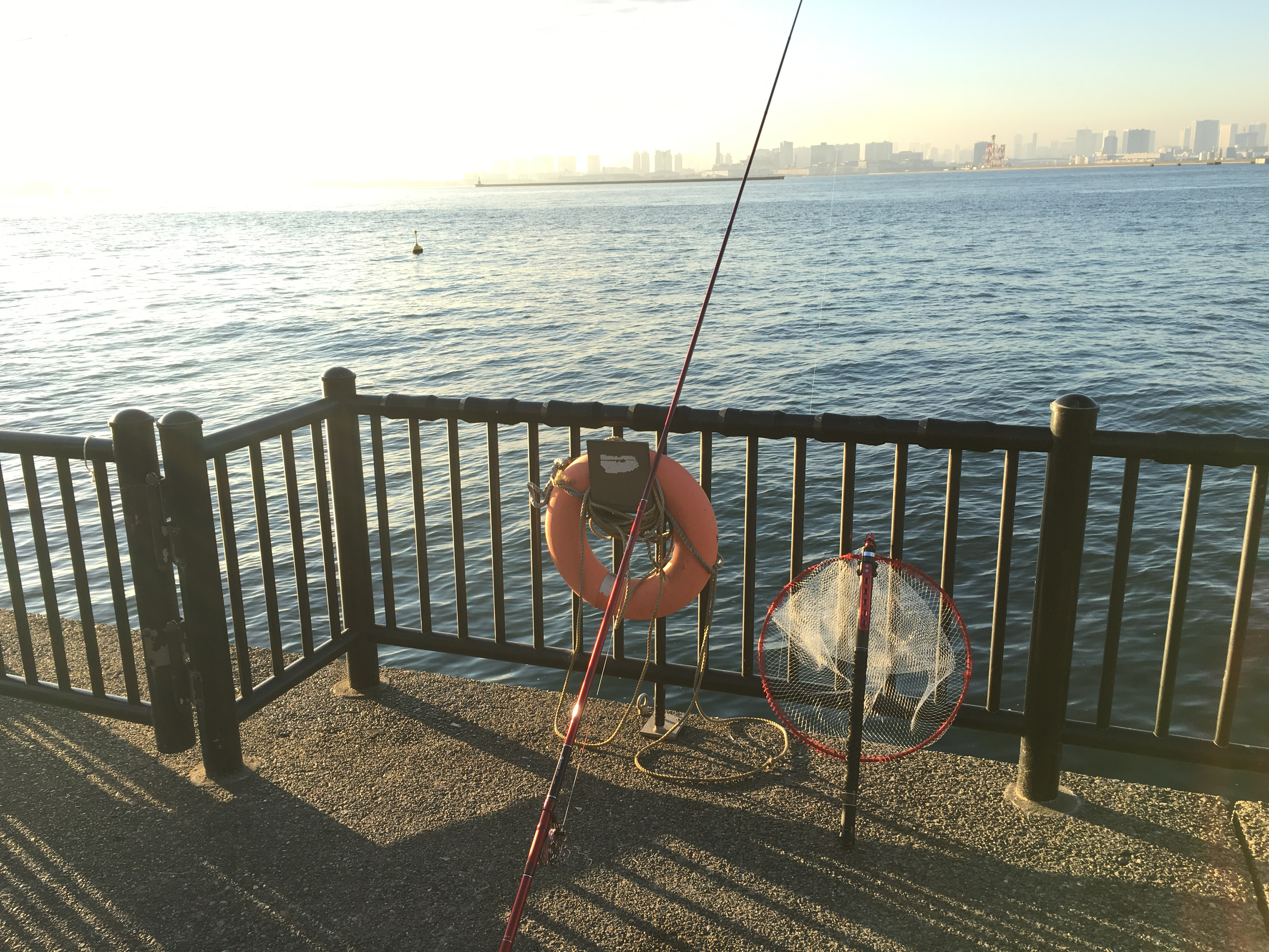 若洲海浜公園 海釣り施設