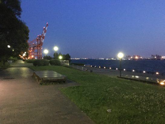 青海南ふ頭公園 入口