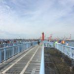 予想通りの激混み?!大混雑の大黒海づり施設へ朝釣りに行ってみました。