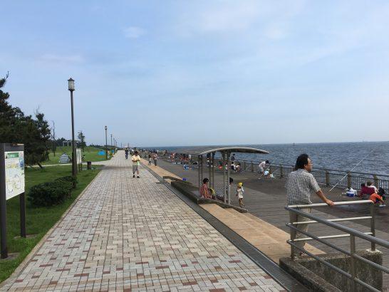東扇島西公園 入口