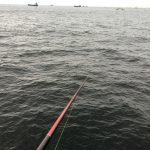 大黒海づり施設 前打ち