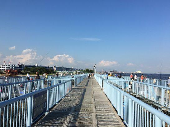 大黒海づり施設 桟橋