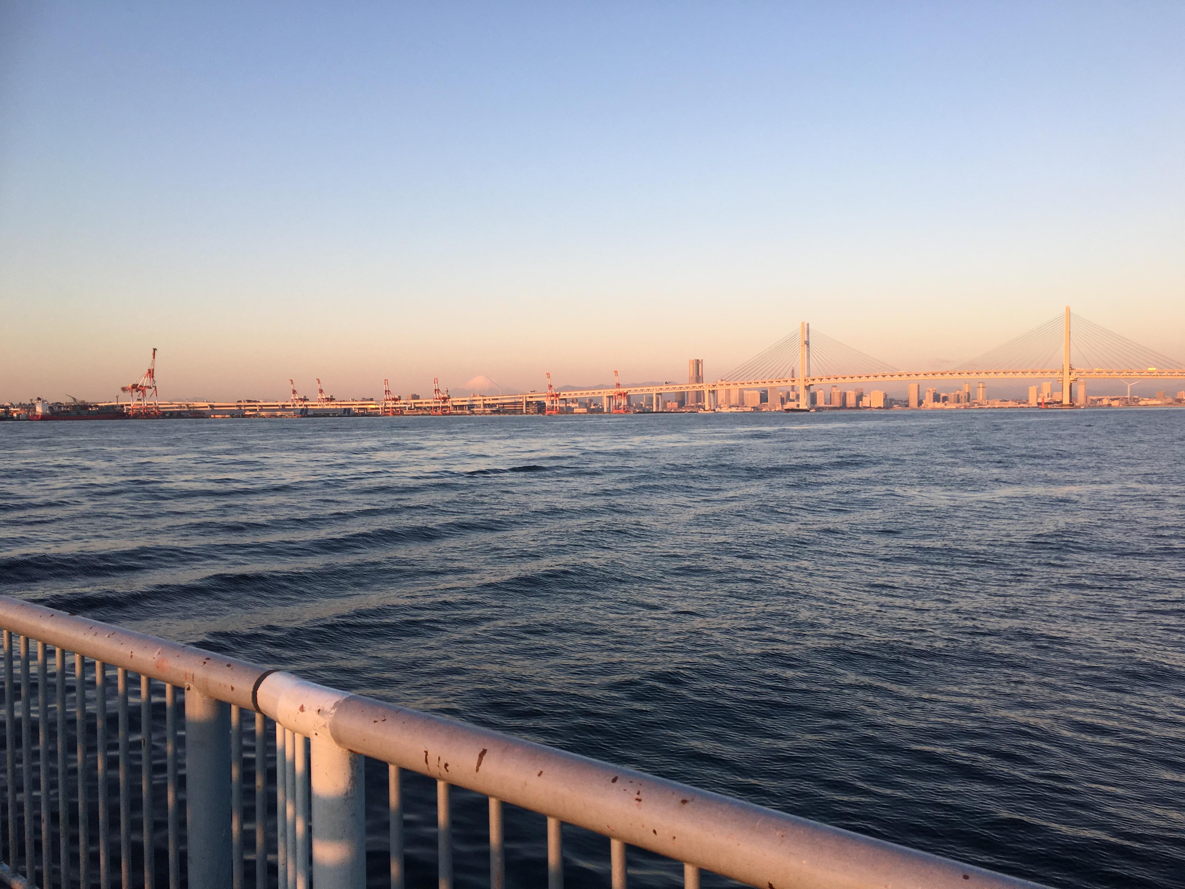 大黒海づり施設 初釣り