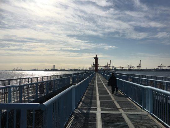 大黒海づり施設 入口