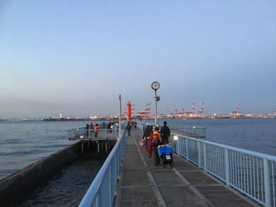 大黒海づり施設 釣り場