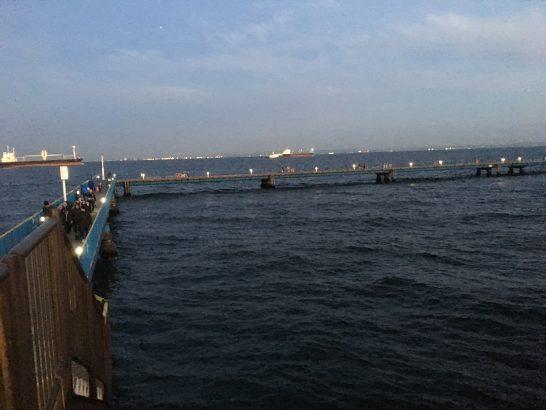 本牧海づり施設 夜釣り