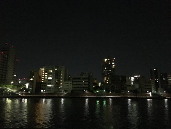 隅田川 夜釣り