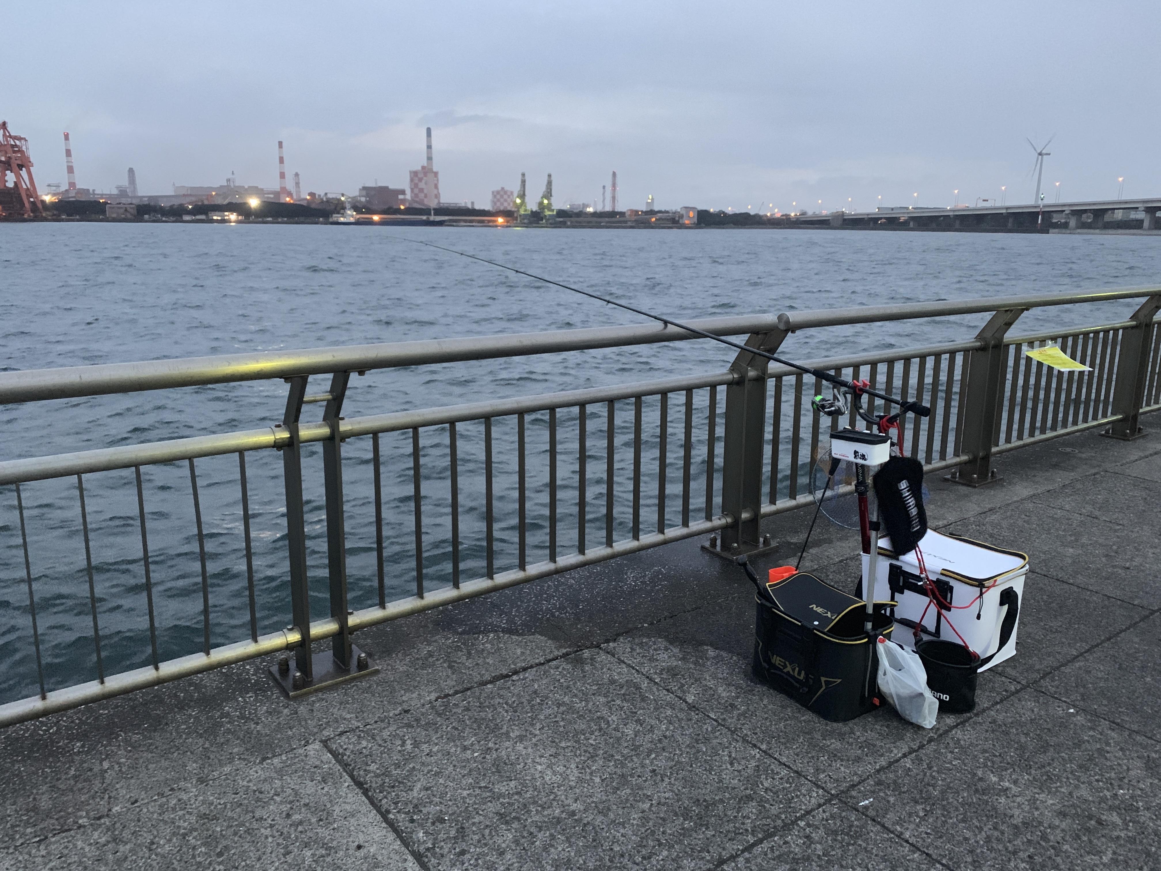 東扇島西公園 ウキフカセ釣り