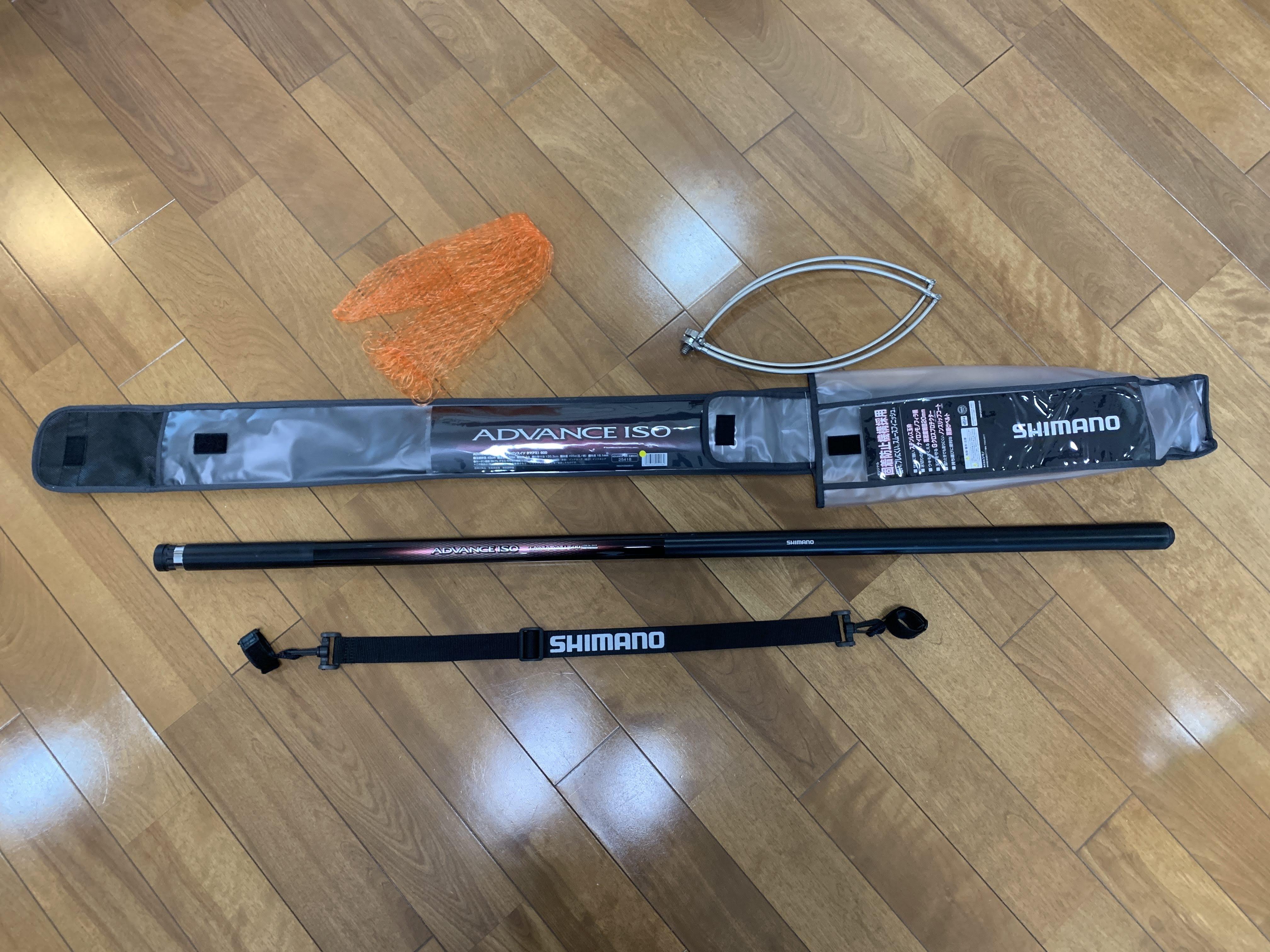 シマノ アドバンスイソ玉網 600