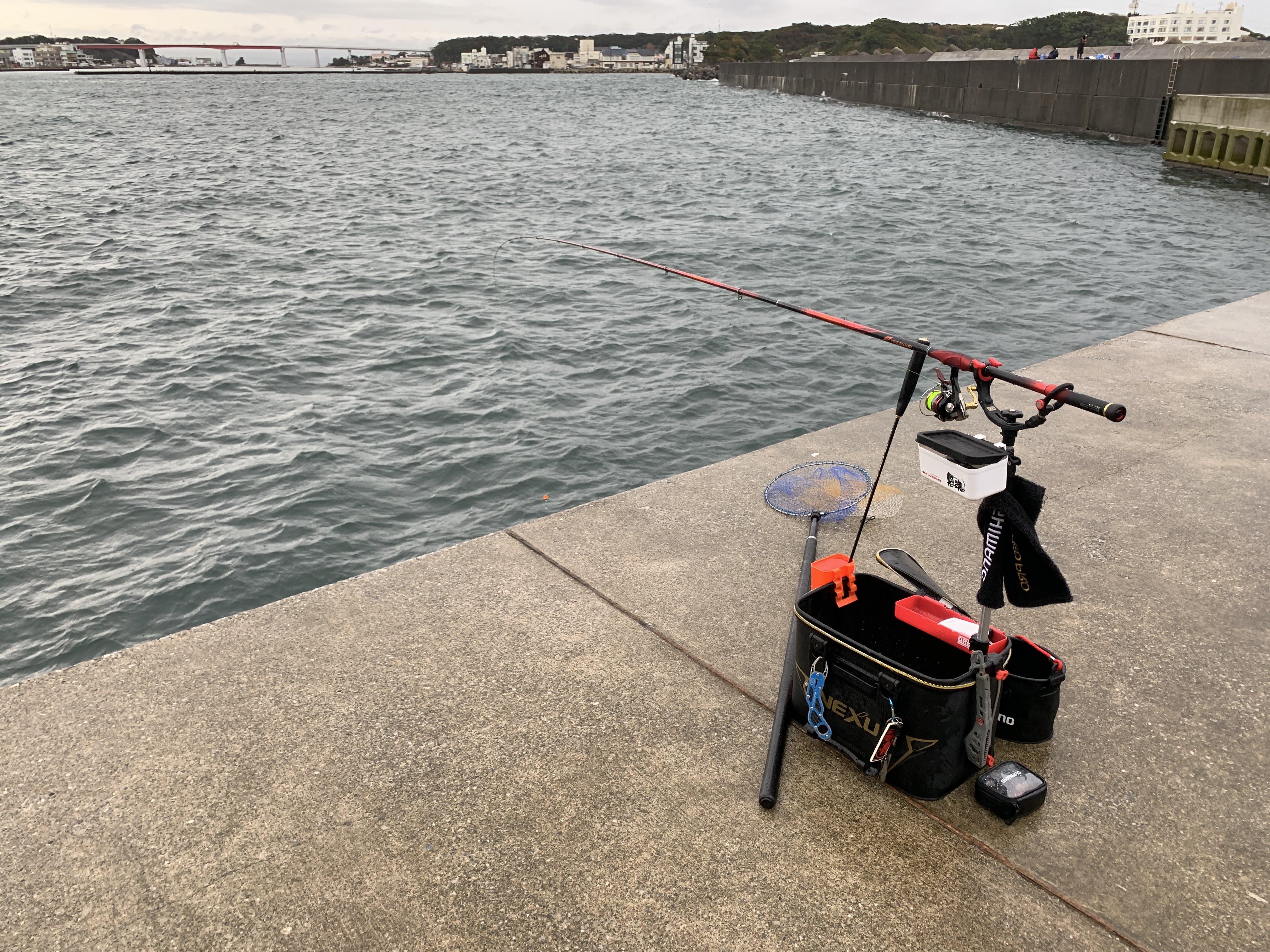 居島新堤防 釣り