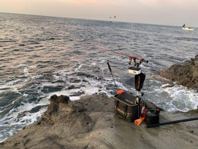 高磯 フカセ釣り