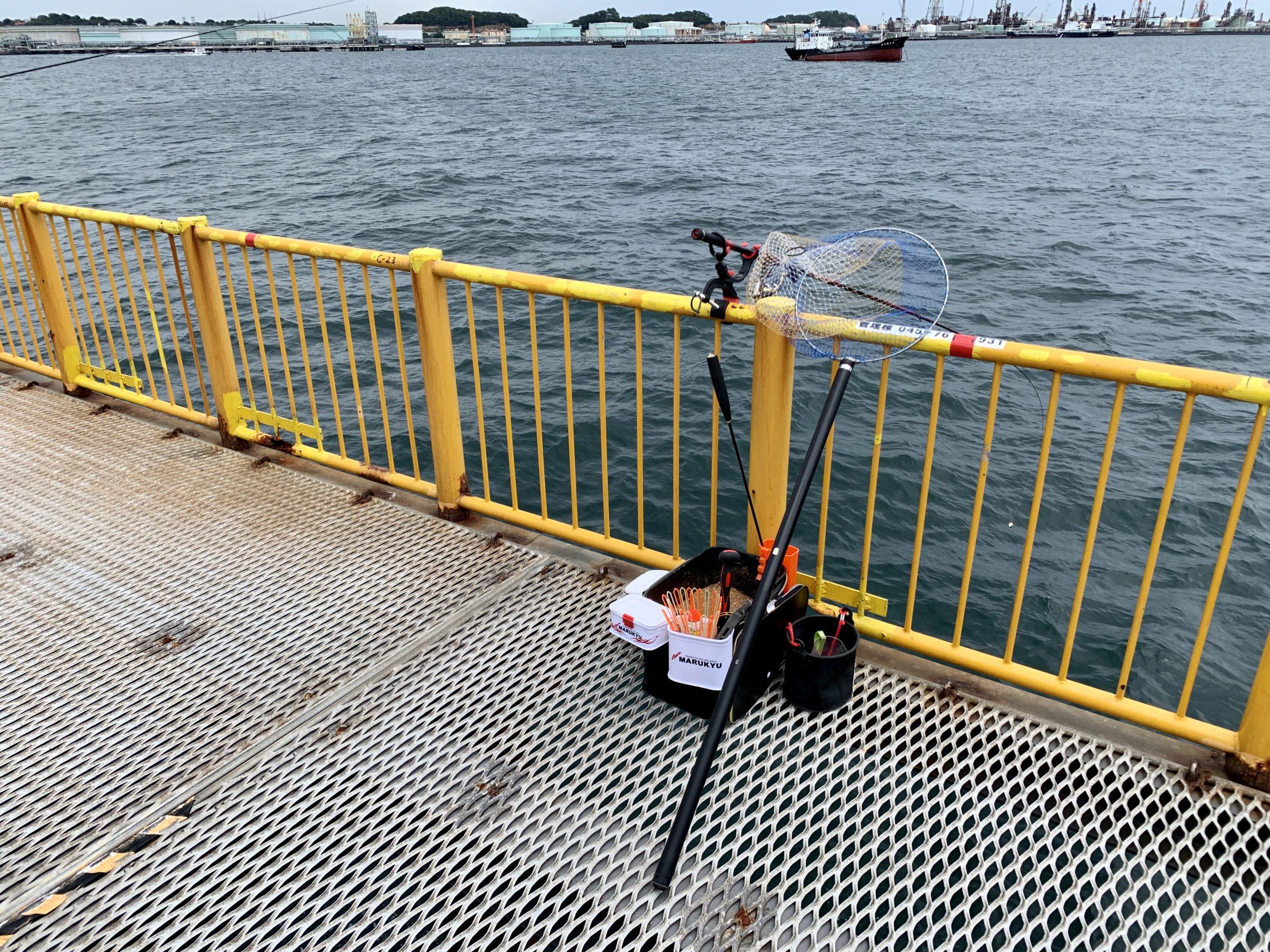 磯子海づり施設 フカセ釣り