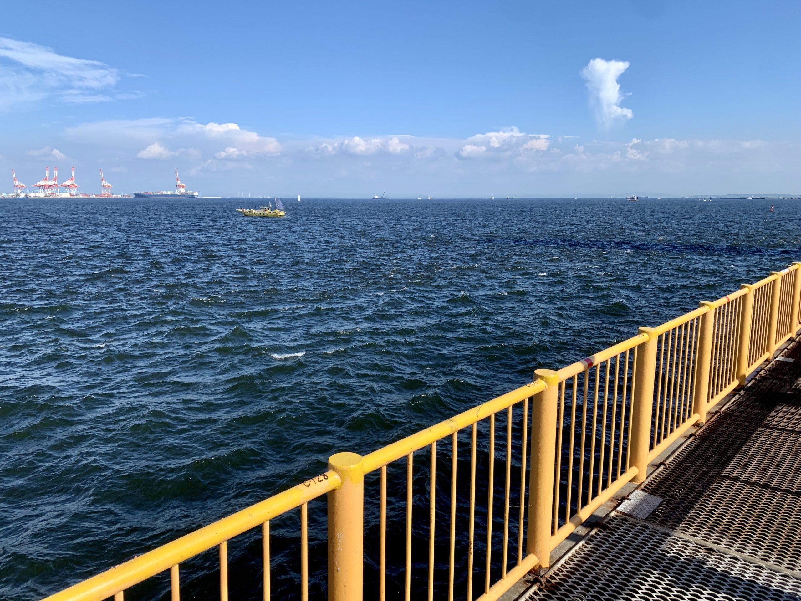 磯子海づり施設 釣り場