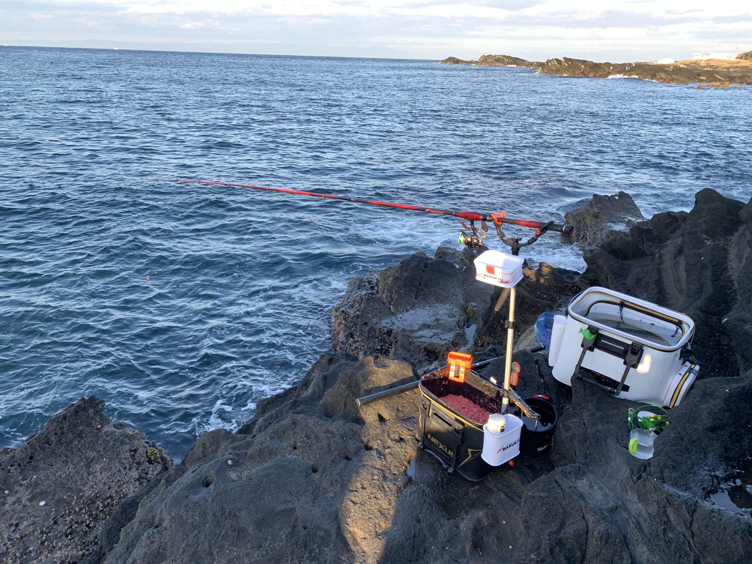 千鳥島 ウキフカセ釣り
